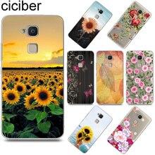 Ciciber Sunflower Rose для BQ Aquaris X U2 C U X5 V VS X2 M Plus Lite Pro Мягкий ТПУ чехол для телефона чехол для BQ M5 E5s M5.5 E4.5 M4.5