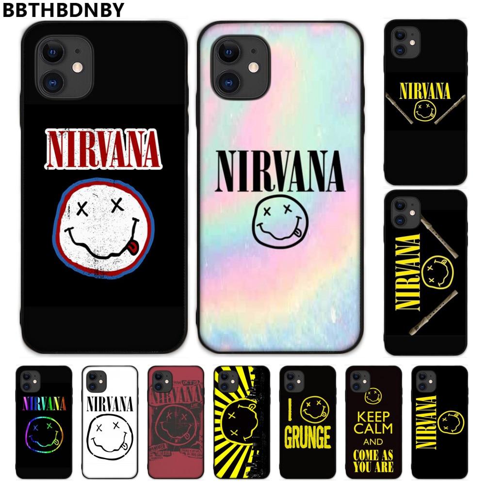 Чехол Miss forever Art для телефона american rock Nirvana Kurt Cobain Smiley чехол для iPhone 5 5S SE 5C 6 S 7 8 plus X XS XR 11 PRO MAX