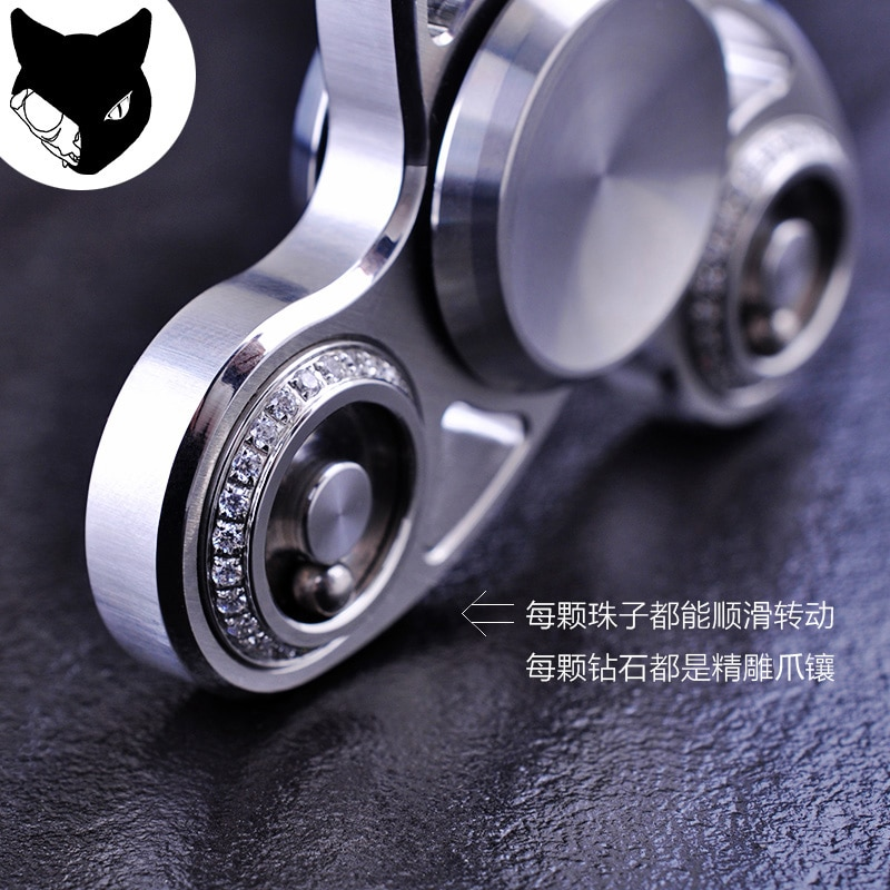 Star cool fingertips gyro wheel refers to the zodiac gyroscope gyro edc between adult decompression toys fidget ring enlarge