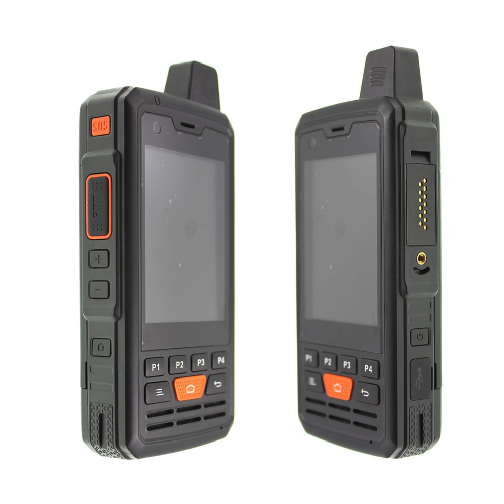 4G-P3 F50 LTE mobile Phone mtk6737 Quad Core Zello Android 6.0 Walkie Talkie PTT Smartphone 1G RAM 8G ROM 4000mAh Battery enlarge