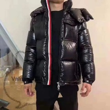Winter Fashionable Luxury Design High Quality Both Men And Women Can Wear Hooded Unisex Down Jacket