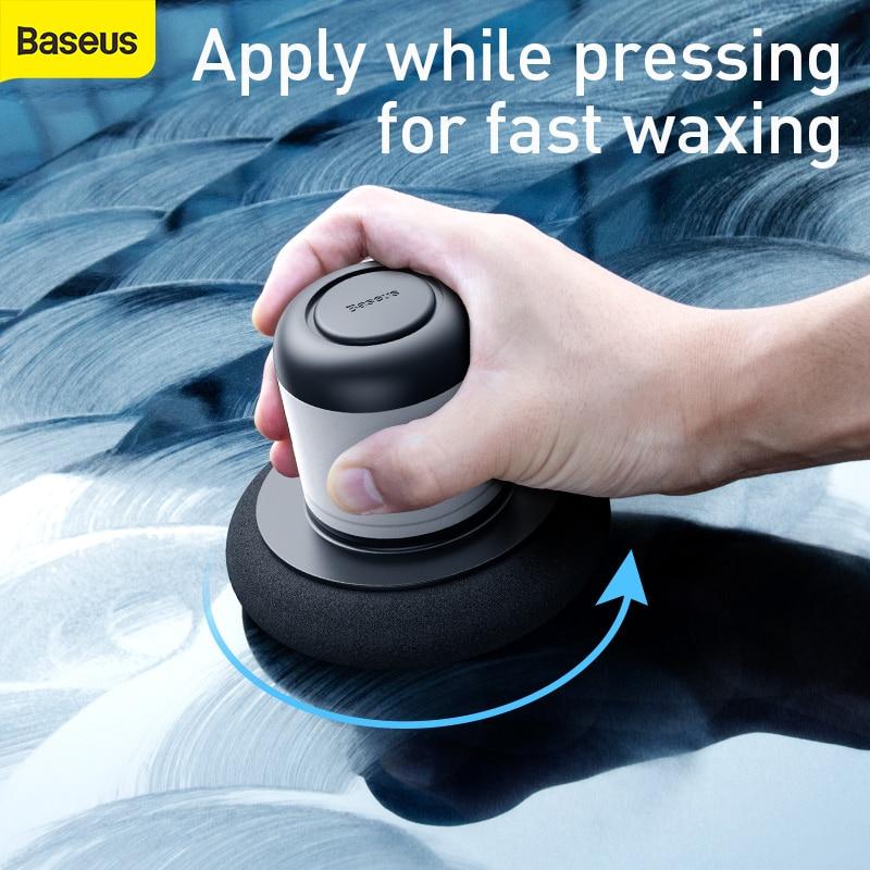 Baseus سيارة الصبح آلة ملمع سيارة العناية صيانة الشمع السيارات تفصيل مزيل إصلاح تنظيف الصبح أدوات Accessories100ML