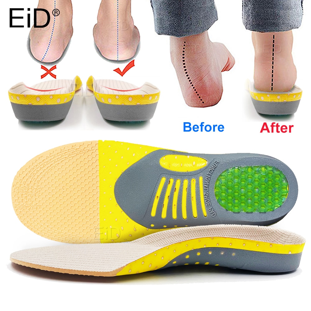 comfortable orthotic shoes insoles inserts high arch support pad for women men lift insert pad height cushion Premium Orthotic Gel Insoles Orthopedic Flat Foot Health Sole Pad For Shoes Insert Arch Support Pad For Plantar fasciitis Unisex