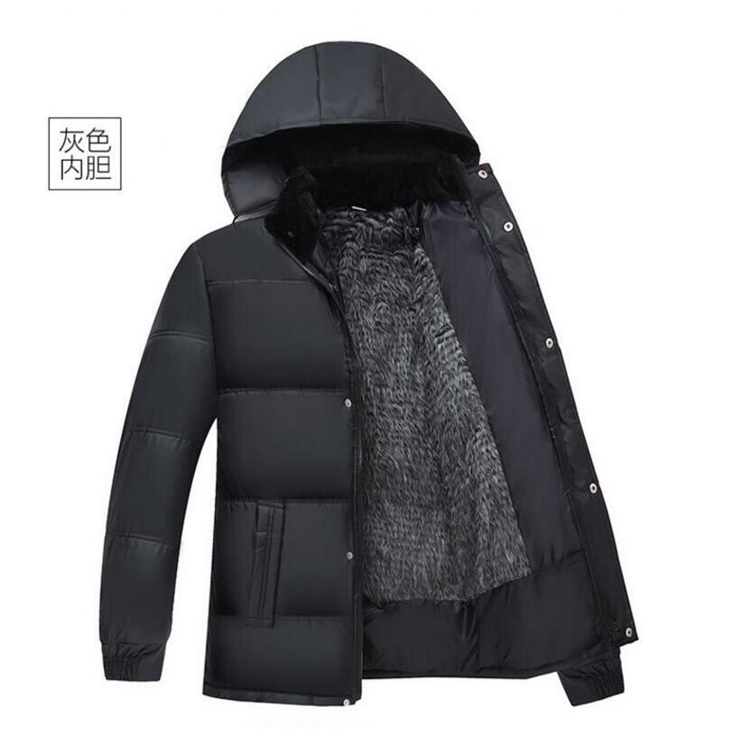 Куртка мужская 2021, зимняя повседневная верхняя одежда, ветровка, мужская куртка, облегающая модная мужская верхняя одежда с капюшоном