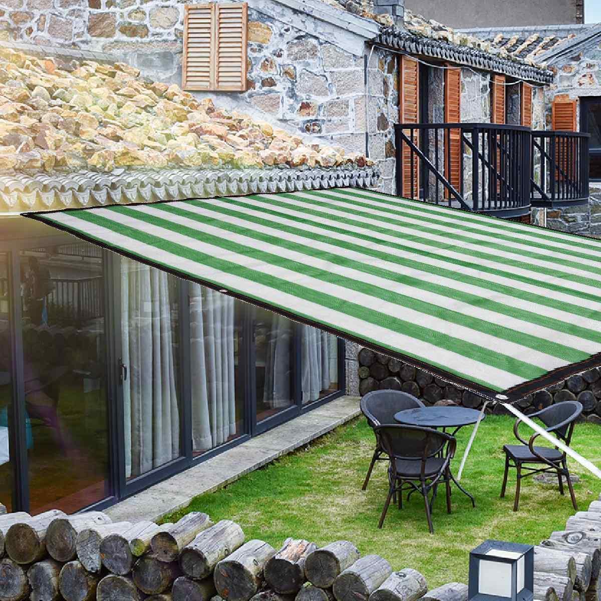 Anti-UV sombrilla red jardín protección solar cortina bloqueadora solar tela piscina cubierta invernadero suculenta planta Red de sombreado