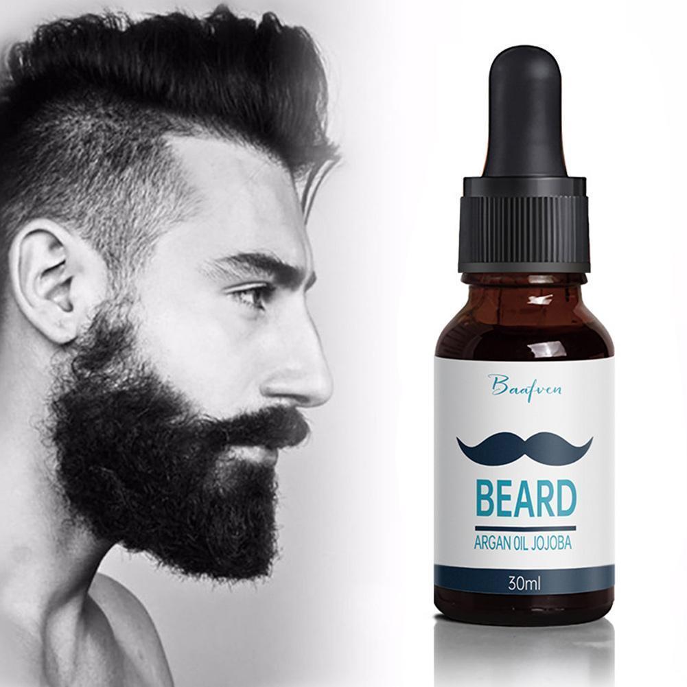 30ML Beard Oil For Men Argan Oil For Beard Growth Products Growth Growth Hair New Beard Eyebrow Mois