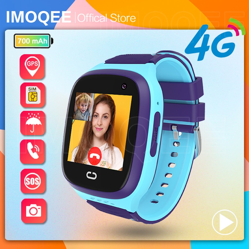 Smart Watch Kids GPS 4G Tracking IP67 Waterproof Smartwatch Android IOS Security Fence SOS Call Smart Watch With Camera LT31