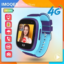 Smart Watch Kids GPS 4G Tracking IP67 Waterproof Smartwatch Android IOS Security Fence SOS Call Smar