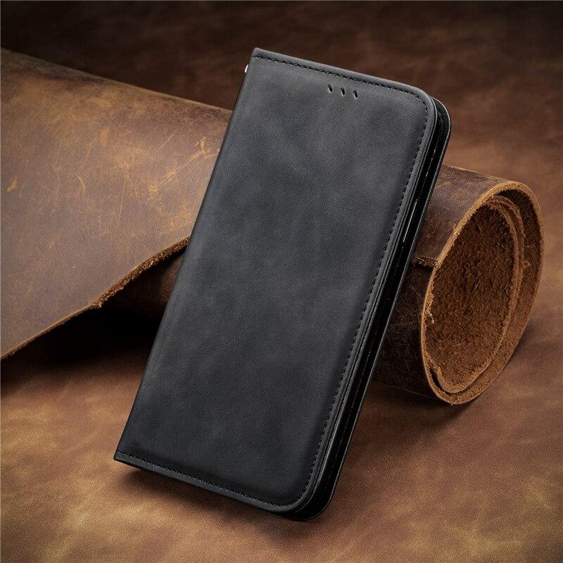 Funda de cuero para Samsung Galaxy A12 A02S A32 A52 A72 Galaxy M31 M21S M02S M12 A51 A71 A50 A70 A31 imán Flip caso de la cubierta