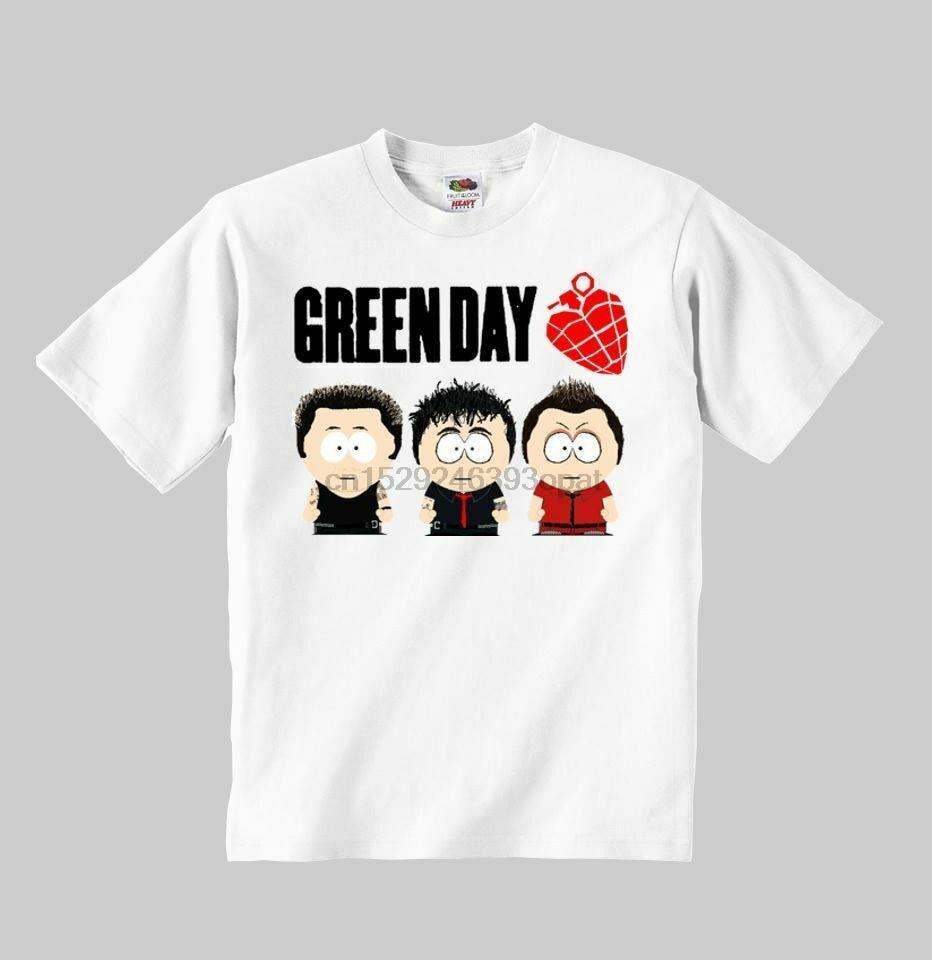 green day cartoon t-shirt kids toddler clothing Boys Girls Children shirt