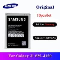 10pcslot eb bj120cbe original battery for samsung galaxy j1 2016 edition j1 version j120f express 3 j120a j120t j120 sm j120f