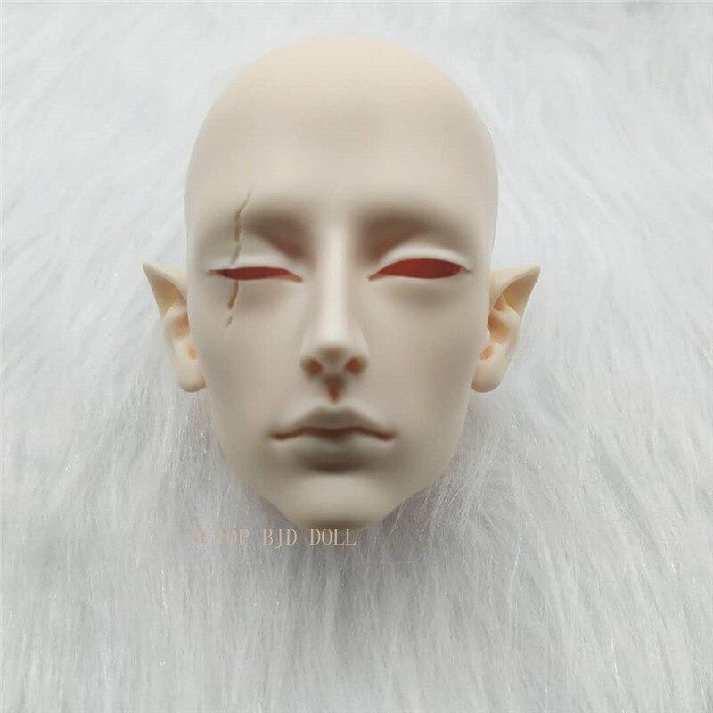 Aetop bjd boneca resina única cabeça