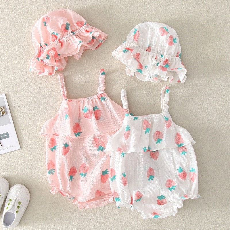 Yg brand children's clothes, baby clothes, girl summer clothes, triangle Princess sling climbing clo