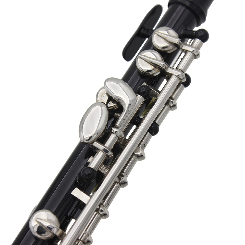 Flute C Key Piccolo Half-size Flute Silver Plated Cupronickel with Cleaning Cloth Screwdriver Padded Box flute accessories enlarge