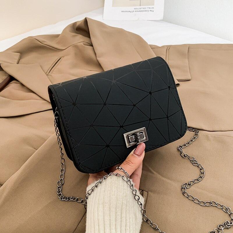 Новинка 2021, Женская оригинальная сумка-мессенджер с принтом трещин