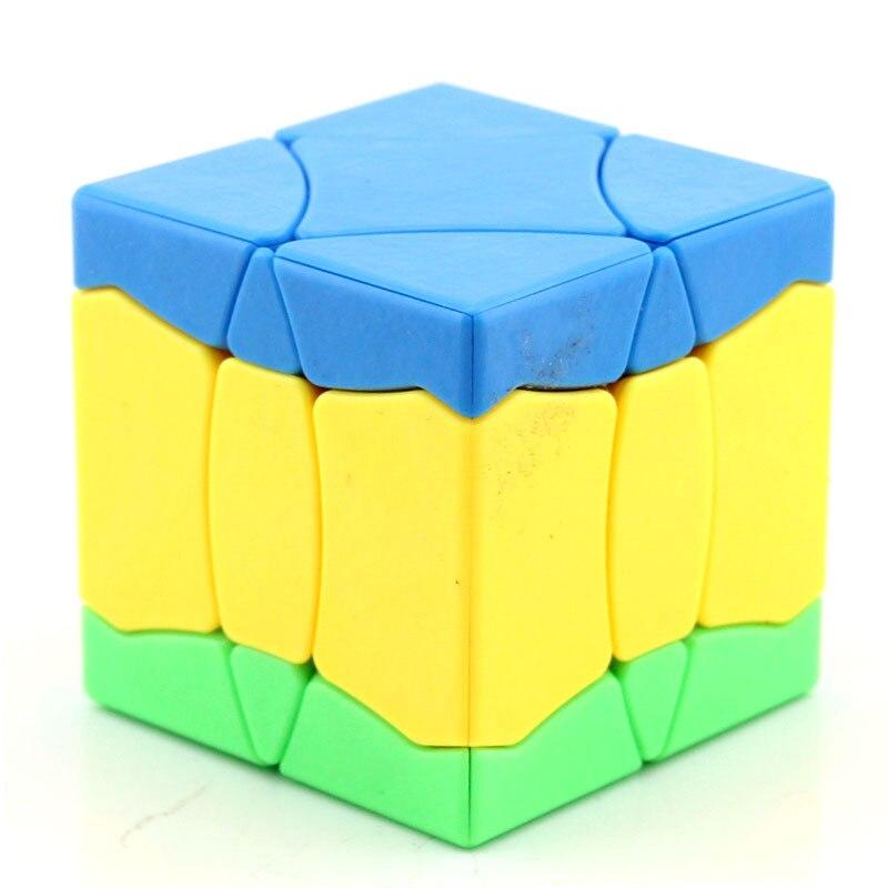 Cubo Shengshou No.1 Bainiaochaofeng cubo helado cubo rojo Stikerless cubo mágico juguetes para niños juguetes educativos regalo de Navidad