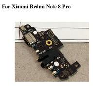 New Original For Xiaomi Redmi note 8 pro USB Dock Charging Port Mic Microphone Module Board Flex Cable Parts red mi note 8pro