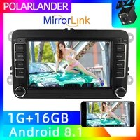 gps navigation mirror link 2 din car radio canbus autoradio for vw polo volkswagen passat for iphone android car multimedia