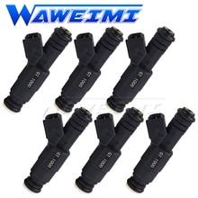 WAWEIMI 6x OE GT1000 Fuel Injector High Flow 1000cc For Audi A4 TT Volkswagen GTR Racing Car