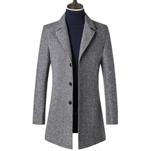 Feito sob encomenda para medir o casaco de tweed dos homens, casaco cinzento do espinha de peixe dos homens, casaco feito sob encomenda do esporte da queda de tweed dos homens