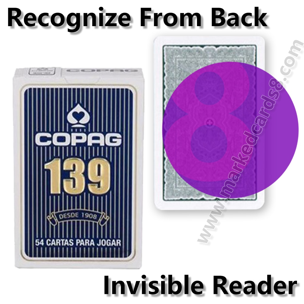 Фото - Copag 139 Marked Playing Cards for Infrared Contact Lenses Magic Mark Card Deck Anti Cheating Poker mark harlan winning at internet poker for dummies