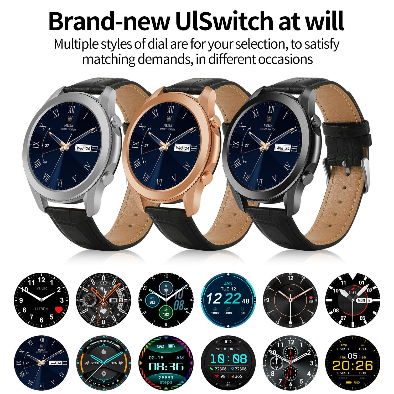 Smart Watch Men 2021 Watch 3 Man Sports Fitness Bracelet Tracker Digital Wristwatch Smart Watch Women for Samsung Galaxy Huawei