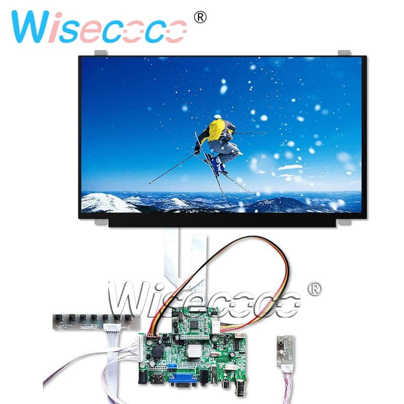 15.6 inch 1080*1920 FHD LCD LED NV156FHM-N42 Scherm display HDMI VGA Besturingskaart EDP 30pin Laptop monitor