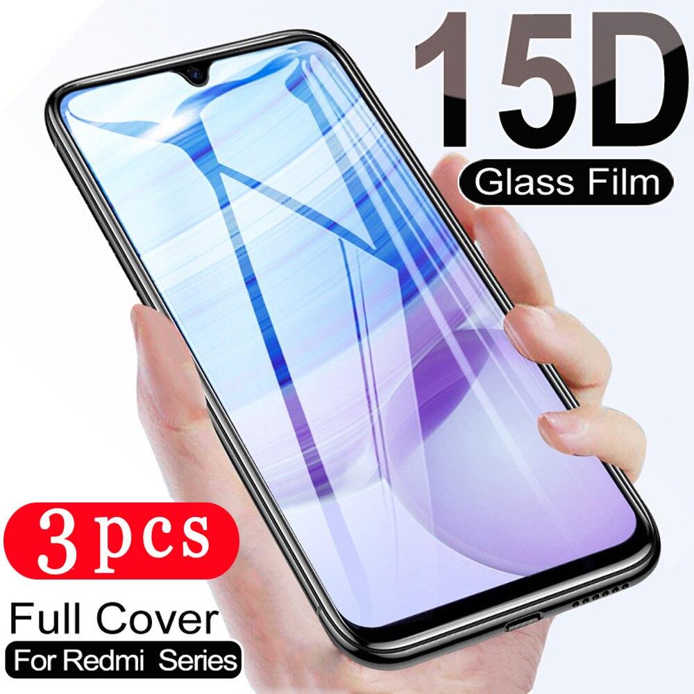 3Pcs für xiaomi redmi 10X hinweis 9s 9 pro MAX 9C 9A redmi hinweis 8 pro 8T 8A gehärtetem glas schutz film telefon screen protector
