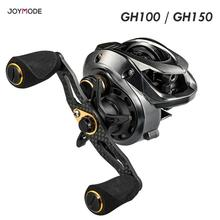 GH100 GH150 Baitcasting Reel High Speed 7.2:1 Gear Ratio 11+1BB Fresh/Saltwater Magnetic Brake System Ultralight Fishing Reel
