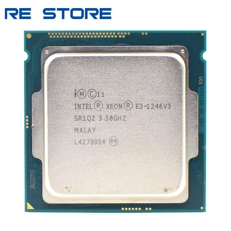 Se Intel Xeon 1246v3 E3 1246 v3 3,5 GHz Quad-Core ocho-hilo 84W procesador de CPU LGA 1150