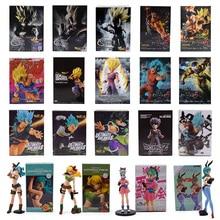 11-26cm Dragon Ball Z Super Saiyan Figure fils Goku Gohan végéta bardane Zamasu Frieza Bulma Lunchi PVC figurines modèle jouets