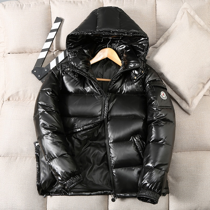 2021High Quality Men Down Jacket Brand Clothing Casual Warm Hooded Coats Winter Jackets -30 Degree Down Parkas Snow Jacket