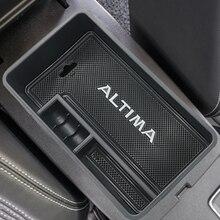 Автомобильный центральный подлокотник коробка для хранения Контейнер Органайзер коробка держатель чехол для Nissan Altima 2019 2020 аксессуары