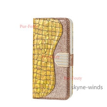 For Samsung Galaxy A03S laser glitter leather case flip wallet clip stand phone holder cover coque f