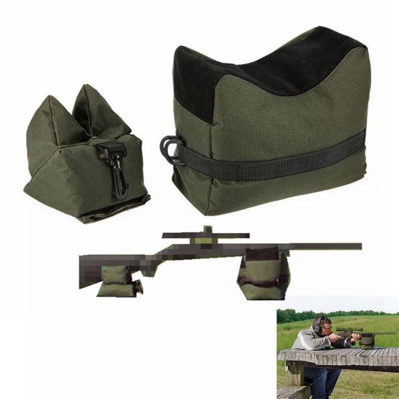FS снайперская сумка для стрельбы, передняя, задняя сумка для отдыха, подставка для винтовки, песочница, скамейка, Незаполненная, аксессуары для охоты на открытом воздухе