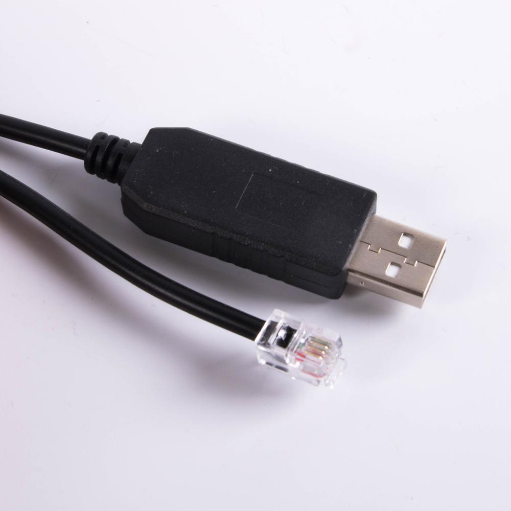Ioptron телескоп кабель управления USB RS232 RJ9 Для Экваториального обновления ПК Asiair Кабельное кодирование линии IEQ30 Pro iEQ45 Pro ZEQ25