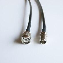3-30M TNC prise mâle à TNC femelle connecteur adaptateur RF queue de cochon cavalier câble RG58 WLAN antenne