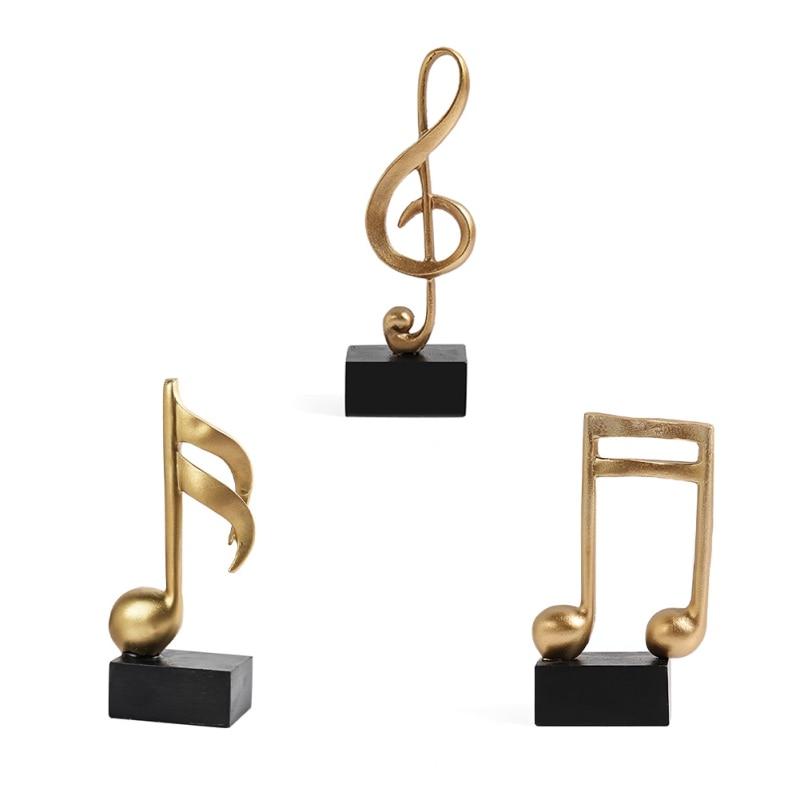 Mini figura Musical de resina para decoración de escritorio, adorno de Piano...