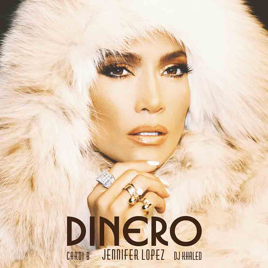 C154, Dinero Juliana Lopez Feat cardi-b & DJ, Álbum de Música Khaled, póster de seda, pintura en lienzo 12x12 24x24, decoración de pared impresa