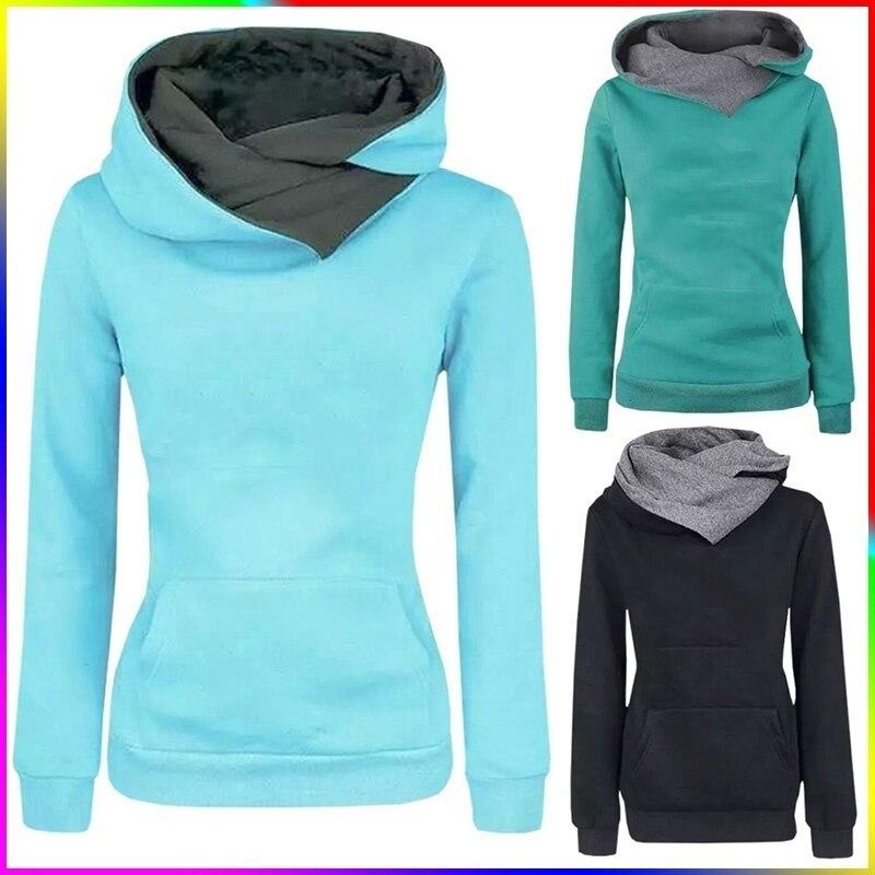 Осенне-зимние женские толстовки, женские толстовки с принтом, толстовки с длинным рукавом и капюшоном, пуловер
