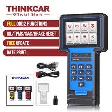 Thinkcar Thinkscan 601 Автомобильный сканер автомобильный диагностический инструмент OBD2 считыватель кодов ECM/ABS/SRS Oil/TPMS/Brake/SAS услуги сброса