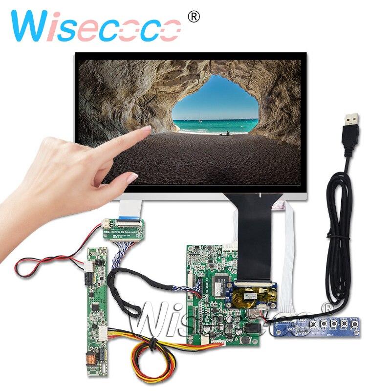 Pantalla LCD de 10,1 pulgadas de 1280*720 DJ101IA-07A pantalla táctil capacitiva VGA HDMI Control Tarjeta de controlador 750 de alto brillo