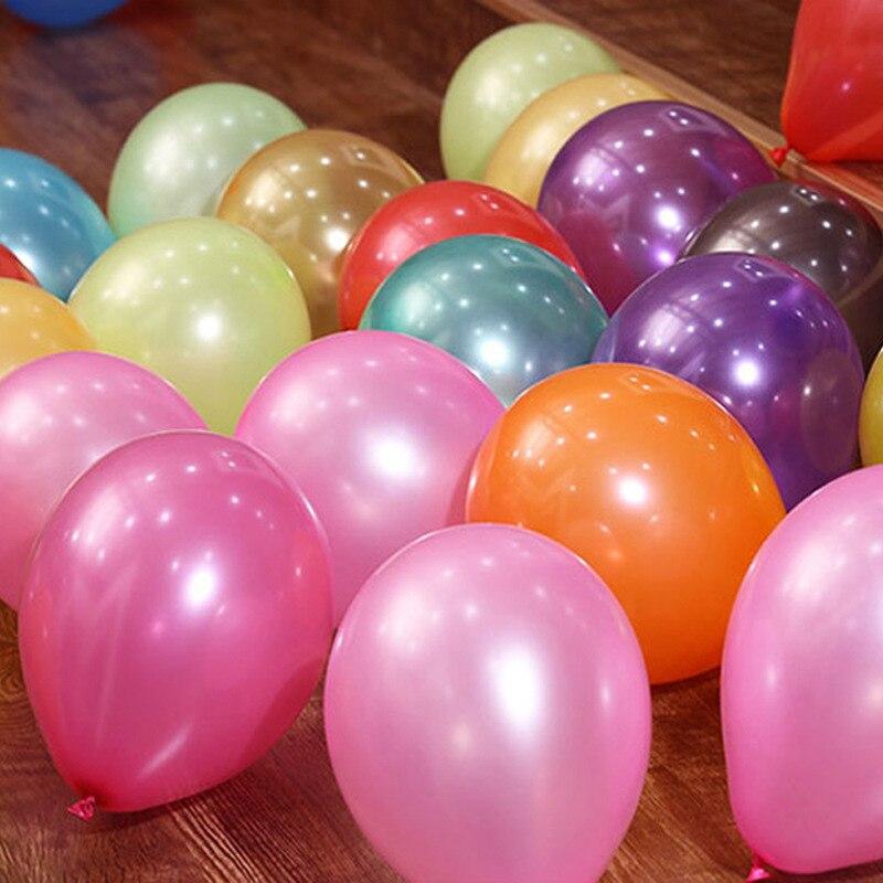 20pcs10Inch 1.5g Helium Pearl Latex Balloons Wedding anniversary Birthday Party Decoration adult Balloon Festival decor Supplies