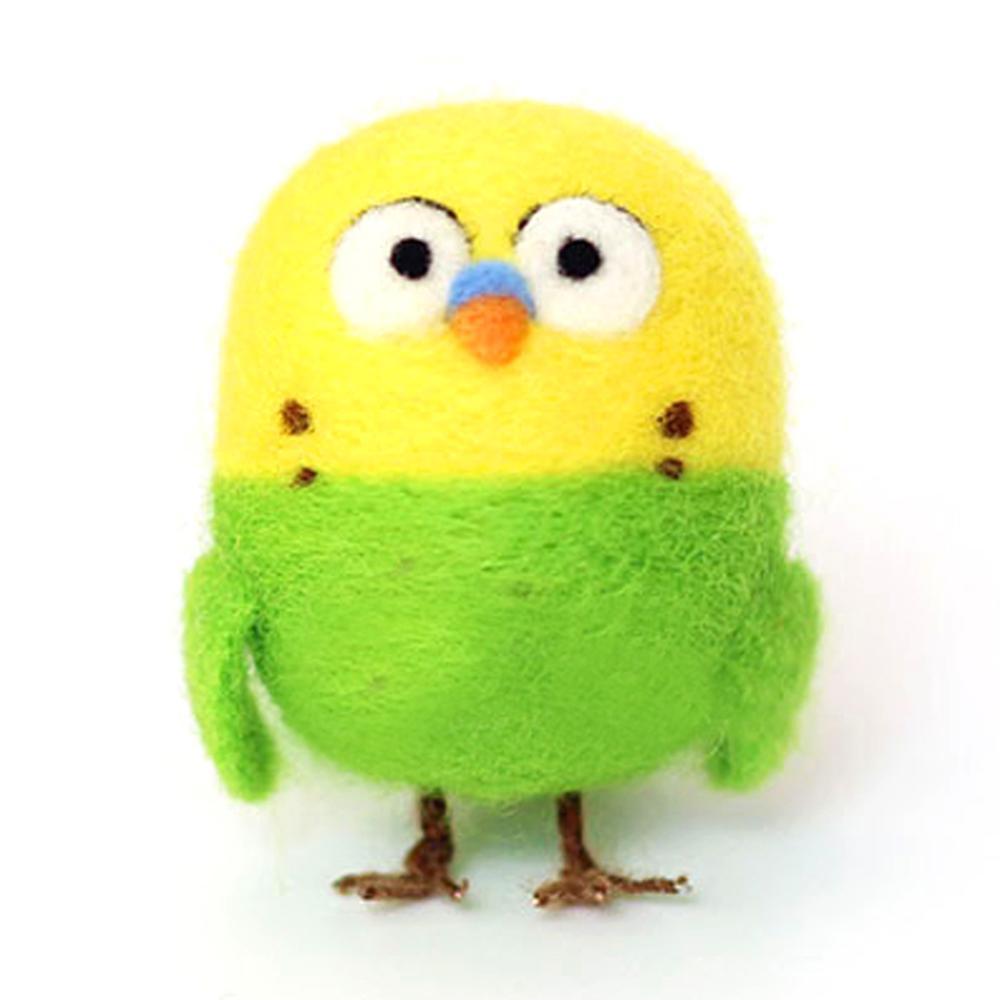 Feltsky papagaio agulha felting kit para iniciantes com manual