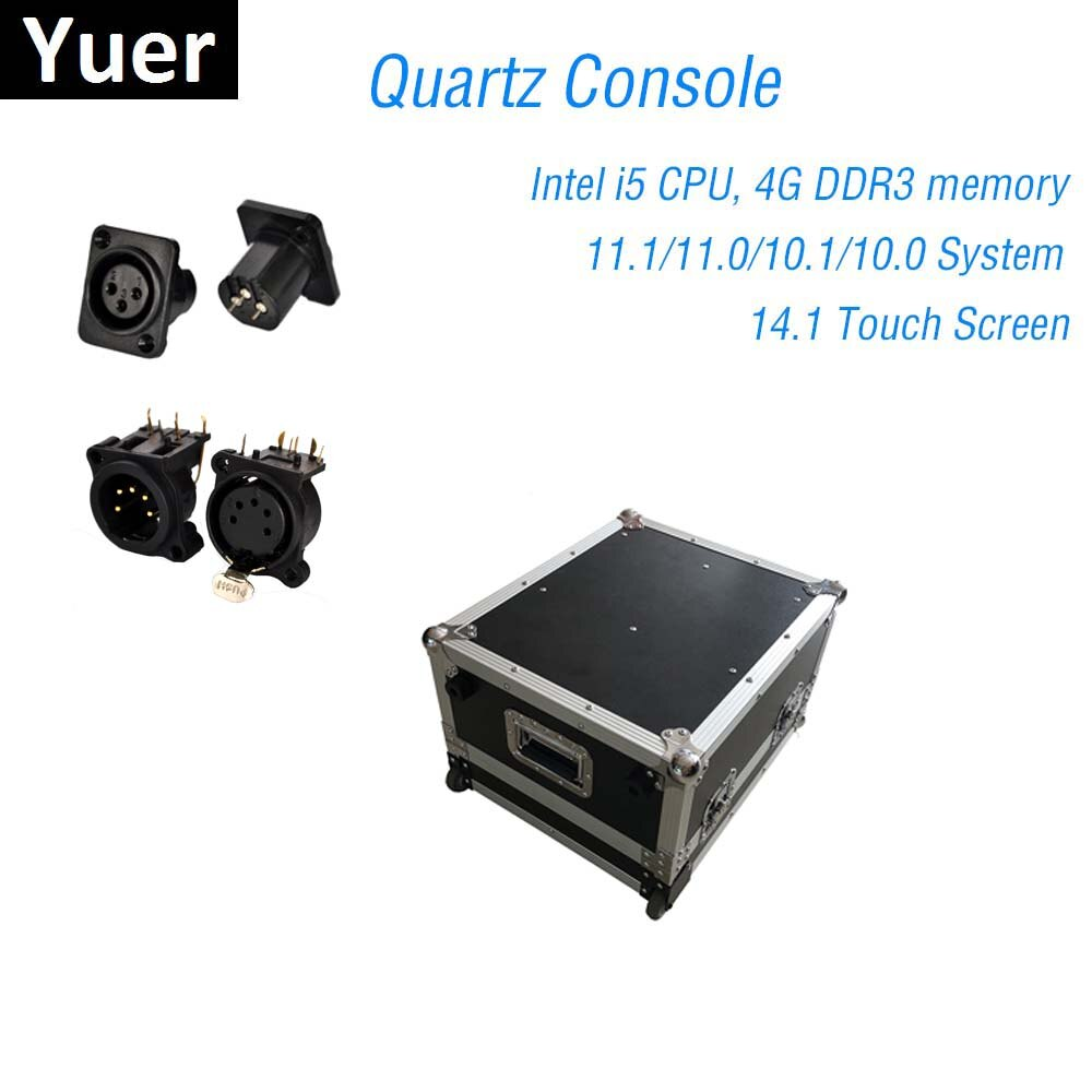 Stage Lighting Console DMX512 Controller Quartz 11.1/11.0 System Super Compact For Dj Light Disco Moving Head LED Par Console