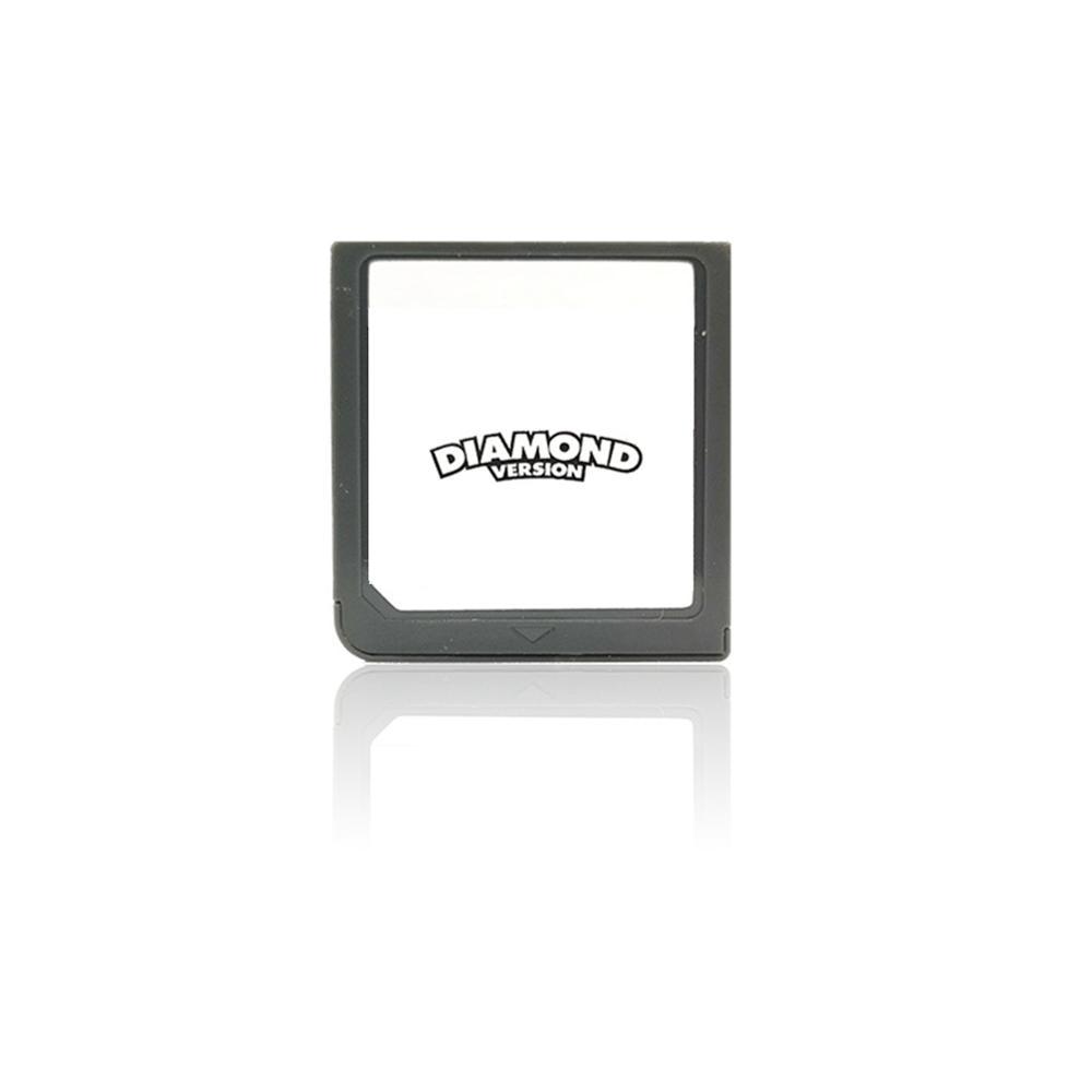 Tarjeta de juego de diamantes y perlas de POKEMON Platinum para Nintendo 3DS, DSI, NDS, NDSL, LITE, solo versión estadounidense