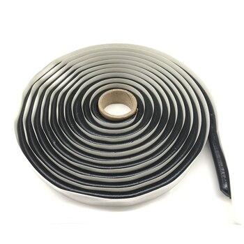 Colle de phare de 4M | Colle de caoutchouc butyle noir, scellant de phare, phares refermables, protection pour feu arrière, colle, bandes étanches