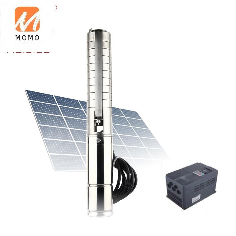 نظام الطاقة الشمسية بومبا دي أغوا 2hp إلى 5hp نظام مضخة مياه غاطسة الشمسية السعر للزراعة