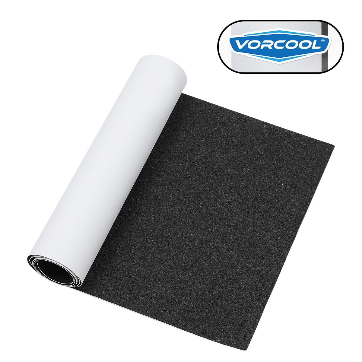 VORCOOL Skateboard Grip Tape Sheet Sandpaper for Rollerboard Stairs Pedal  Wheelchair 80x20cm