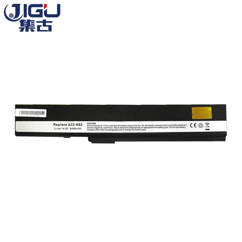 JIGU Hot Replacement Black 8 Cells laptop taptop FOR ASUS 70-NXM1B2200Z A31-K52 A32-K52 A41-K52 A42-K52 A31-B53 A32-N82 A42-N82